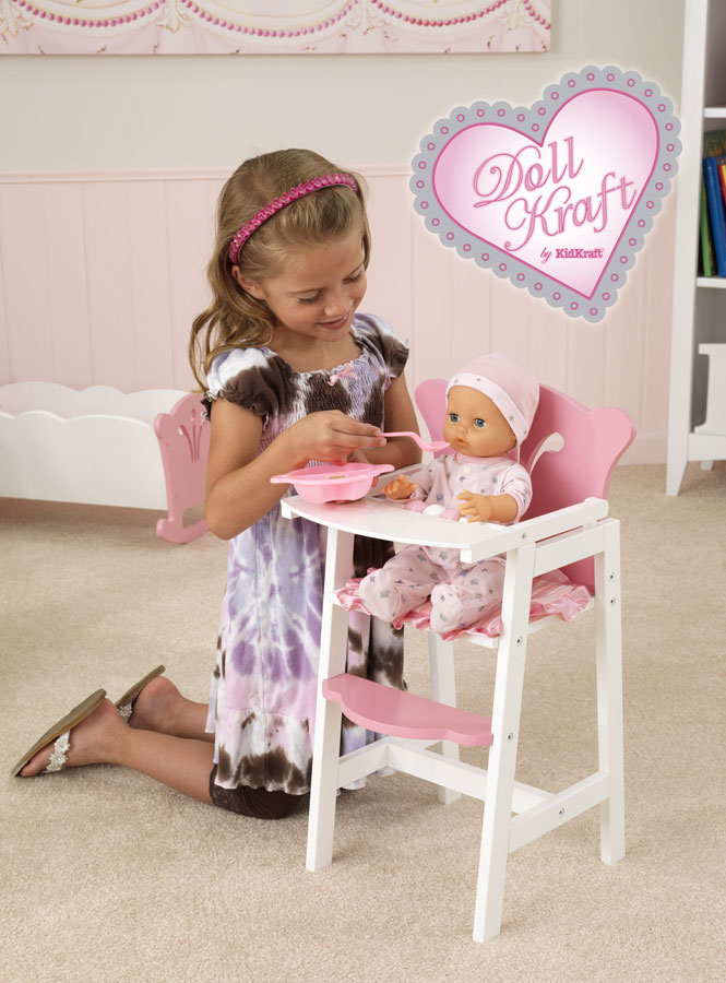 KidKraft Comfy and Cozy High Chair - DollKraft by Kidkraft