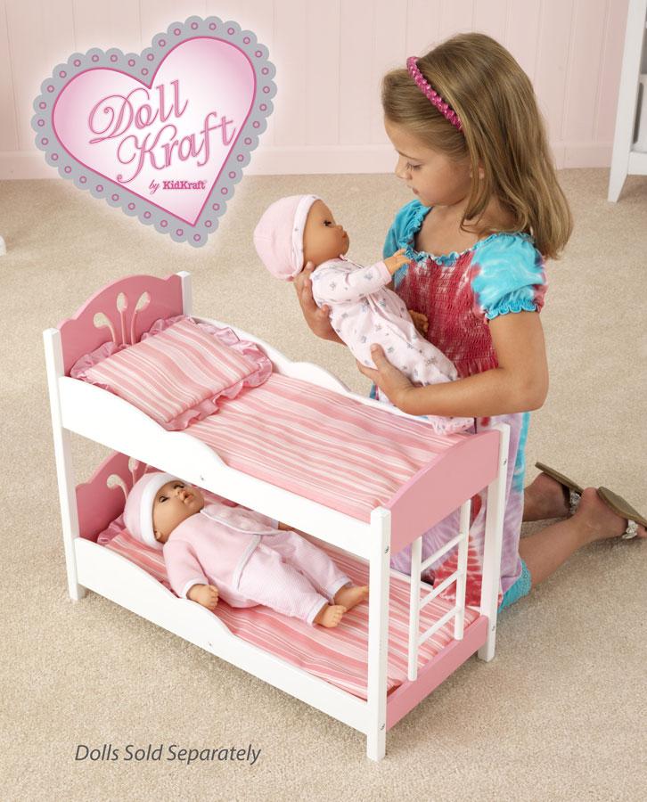 KidKraft Comfy and Cozy Bunk Bed - DollKraft by Kidkraft