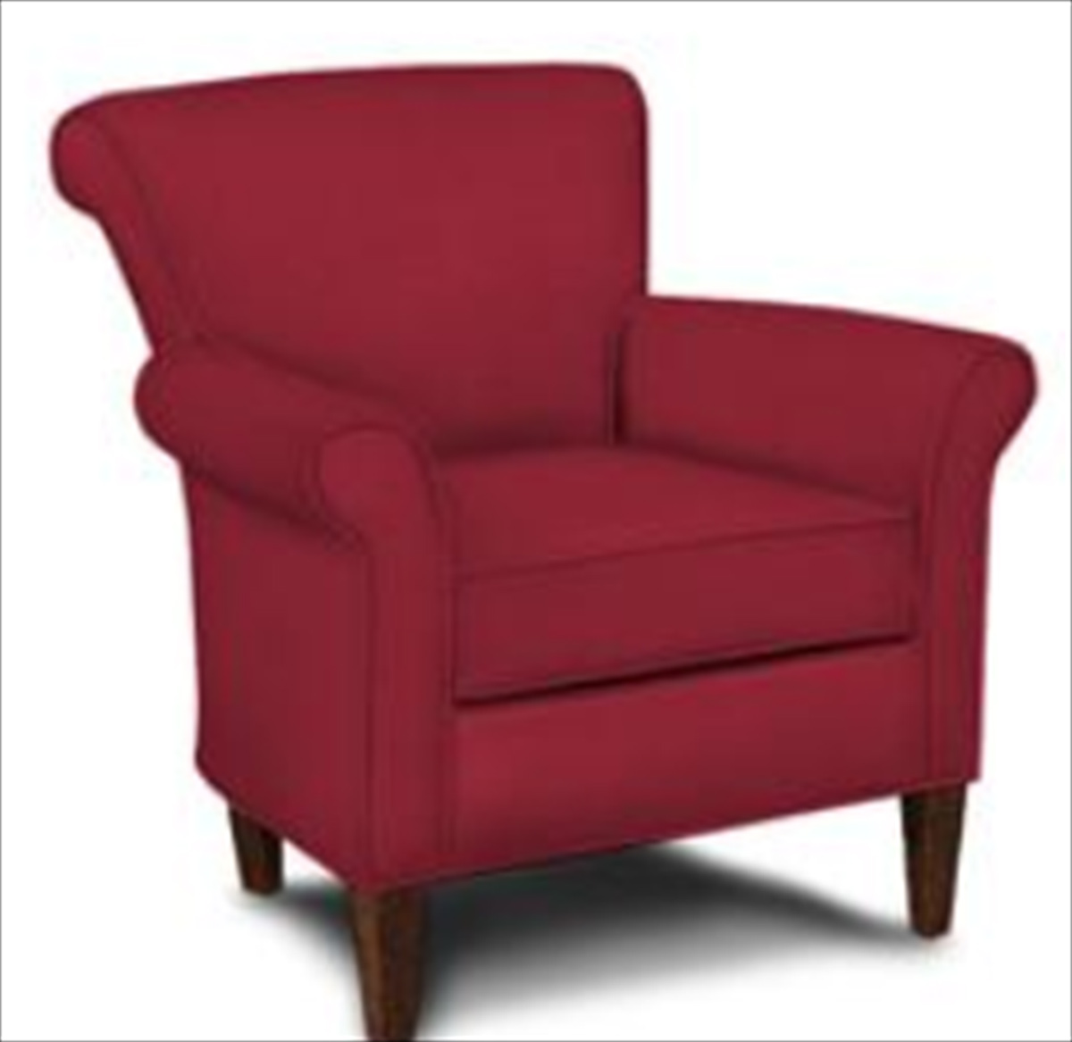 Klaussner Louise Chair - Willow Blaze red