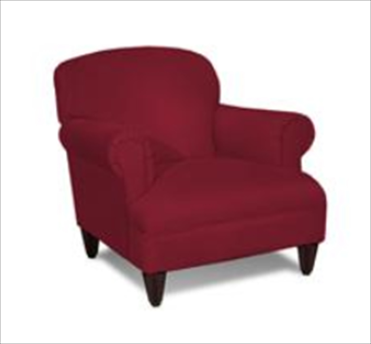 Klaussner Wrigley Chair - Belsire Red