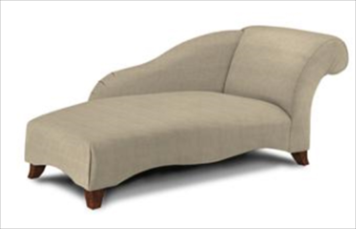Klaussner parlor chaise lounge microsuede khaki 4890rc for Chaise kaki