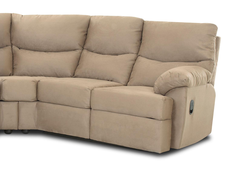 Microsuede reclining sofa omega 2 microsuede reclining sofa mocha the brick toreno cocoa - The brick sofa sets ...