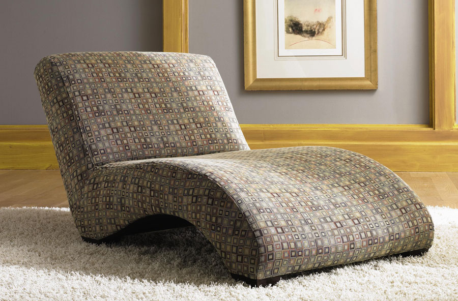Klaussner celebration chaise lounge kl 42319chase at for Camo chaise lounge