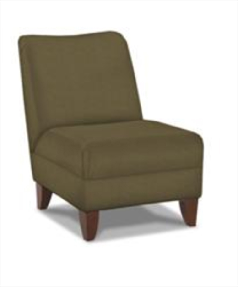 Klaussner Linus Armless Chair - Willow Olive