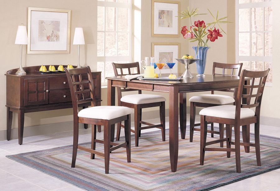 Klaussner Manhattan Counter Height Table Set