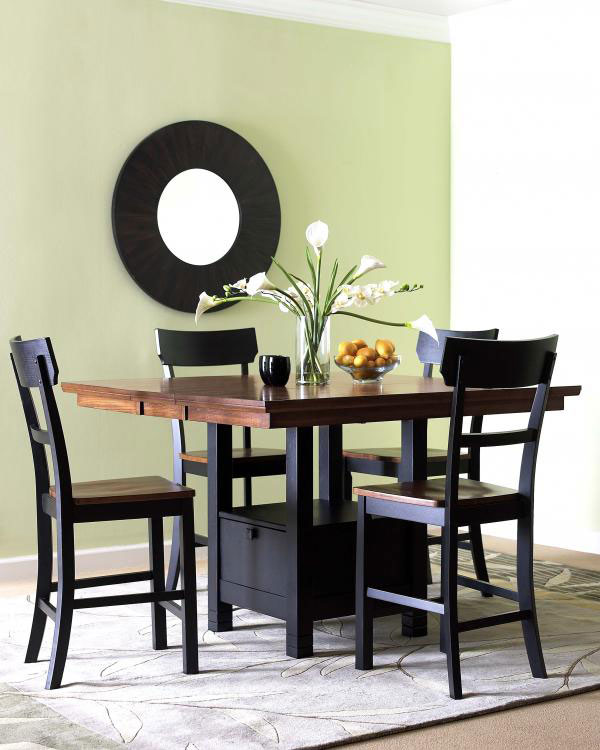 Klaussner Market Square Counter Height Table Set