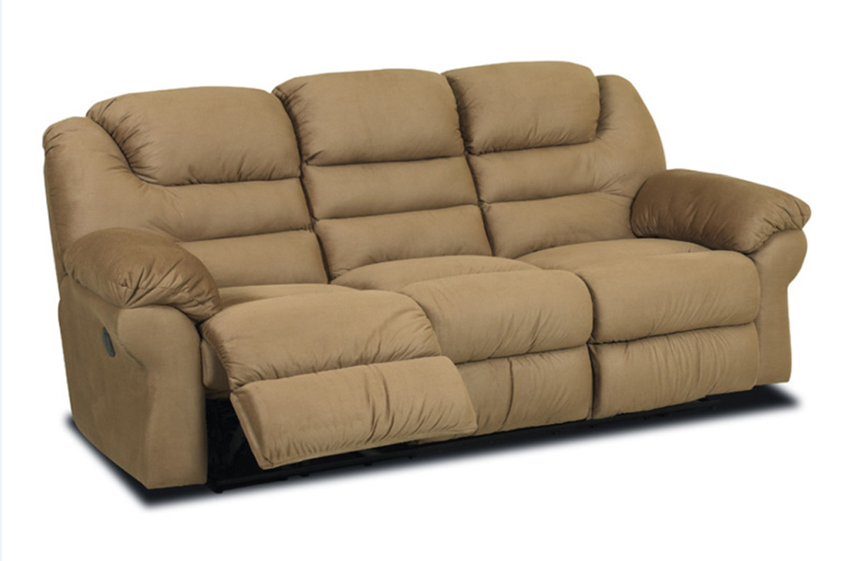 Klaussner Contempo Reclining Sofa Manford Brown