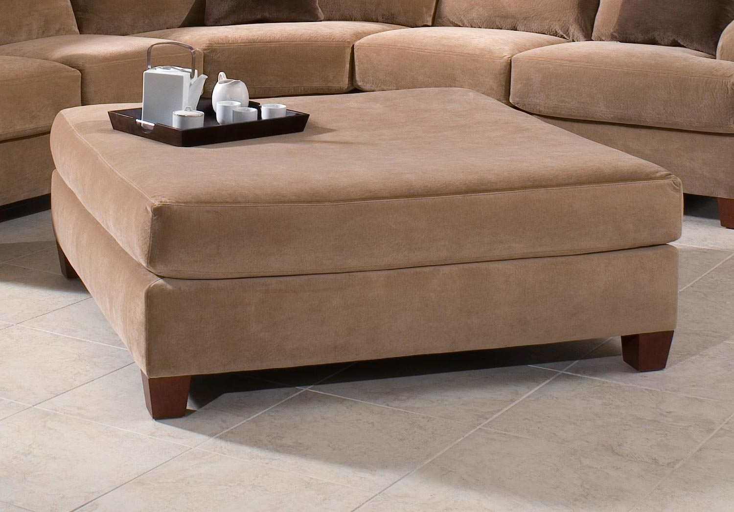 Klaussner Canyon Sectional Sofa Set Nuzz Latt Brown Kl