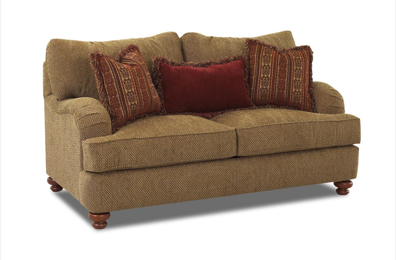 Klaussner Walker Sofa Set Clovis Toffee Kl Ok64930f