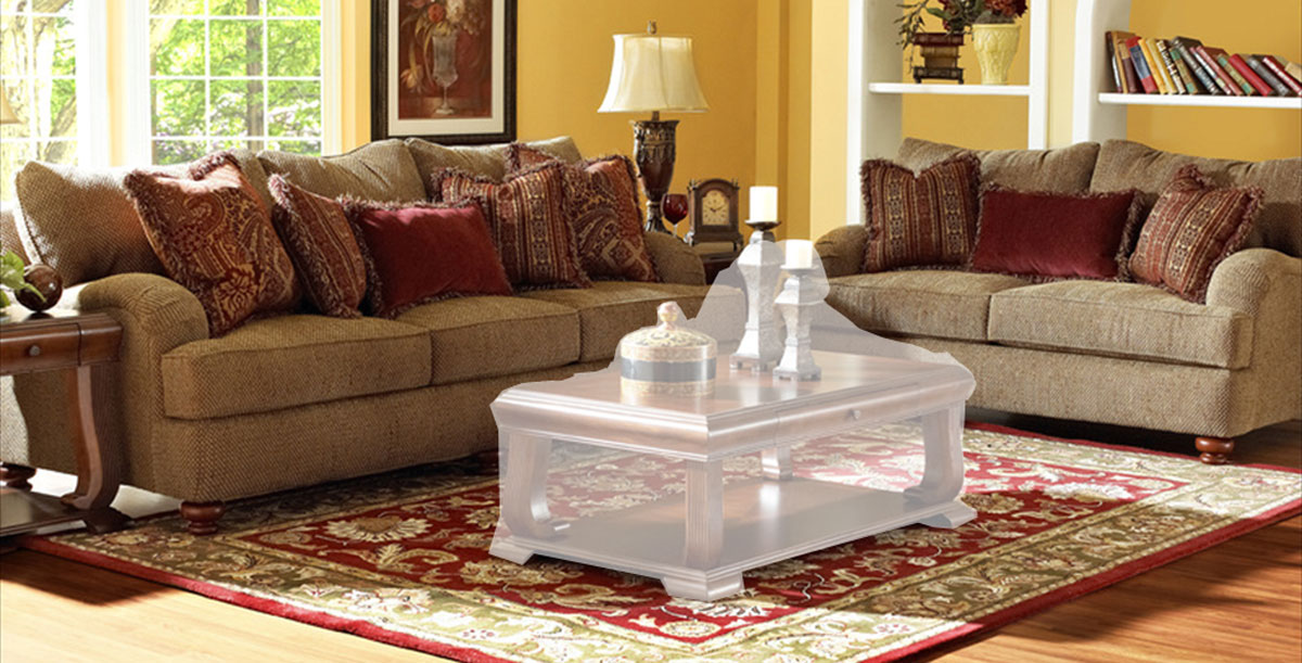 Klaussner Walker Sofa Set Clovis Toffee