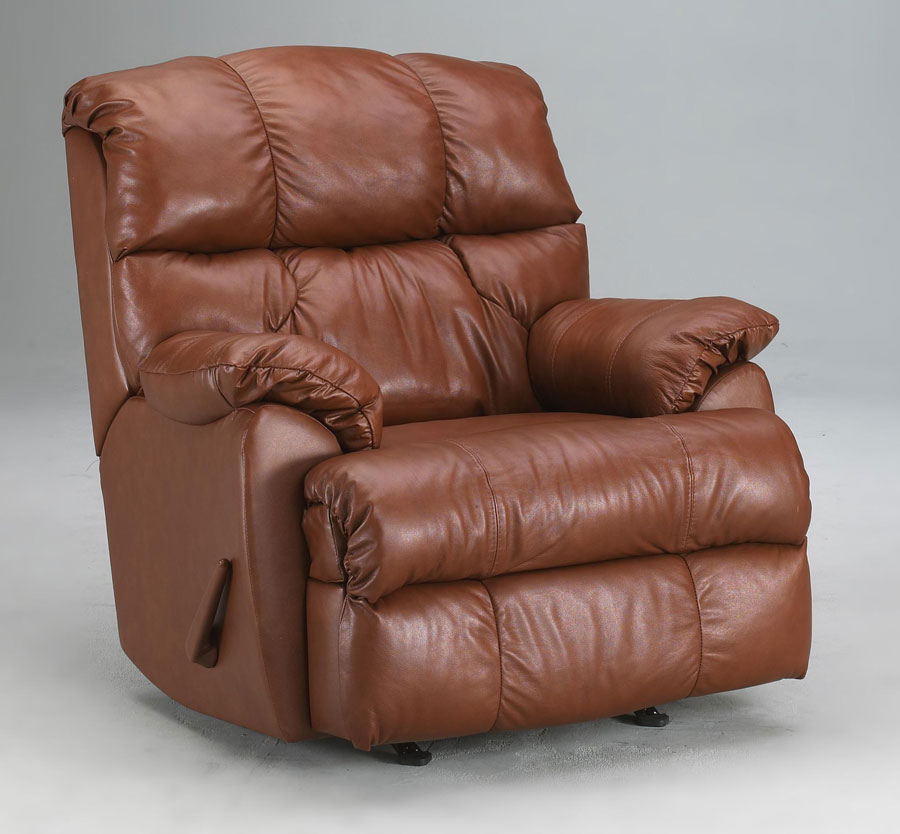 Cheap Klaussner Rugby Reclining Rocking Chair