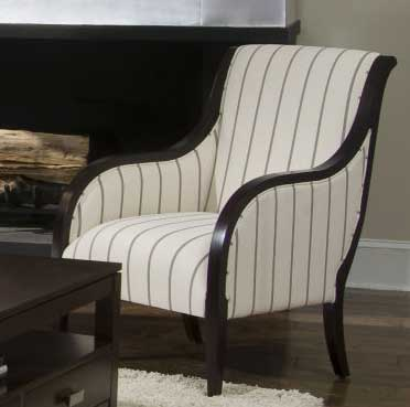 Photo of Klaussner Samuel Accent Chair (Accent Furniture, Accent Chairs)