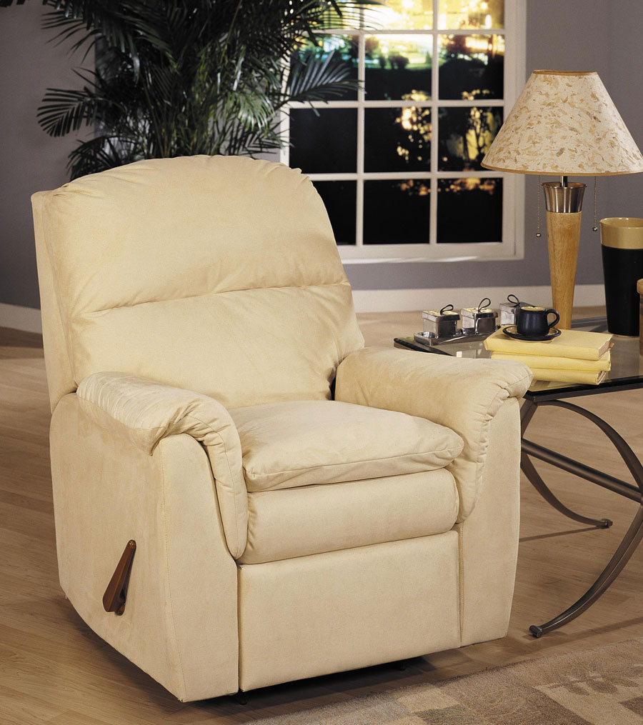 Klaussner Shellburne Swivel Gliding Reclining Chair