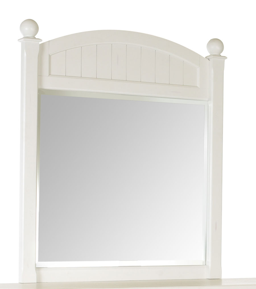 Cheap Klaussner Treasures White Mirror