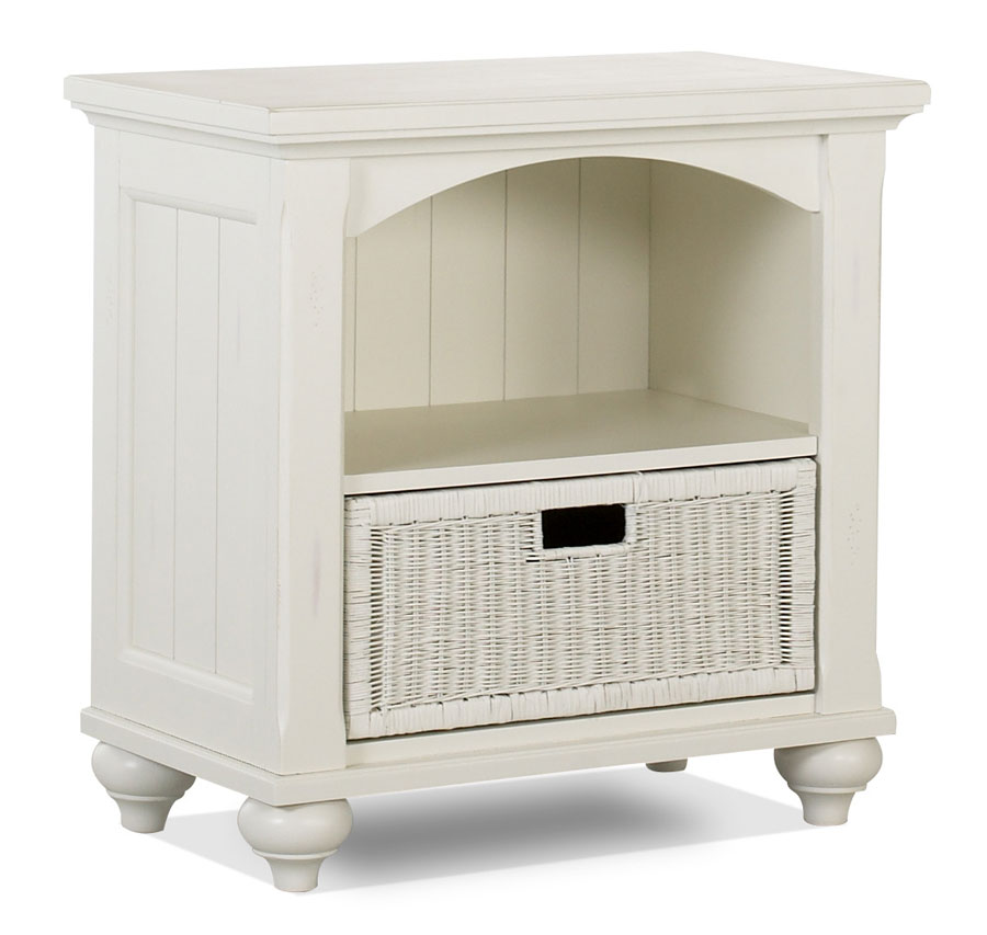 Cheap Klaussner Treasures White Open Night Stand