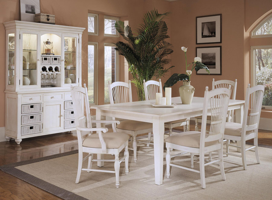 Klaussner Treasures White Dining Set