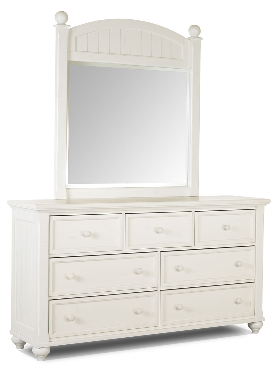 Girls White Dresser***