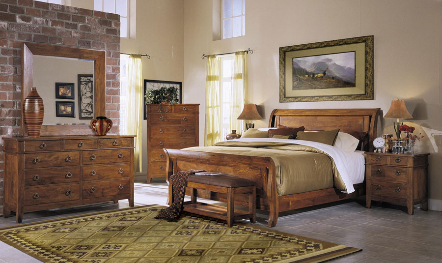Klaussner Urban Craftsmen Bedroom Set