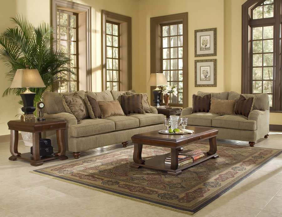 Klaussner Walker Sofa Set