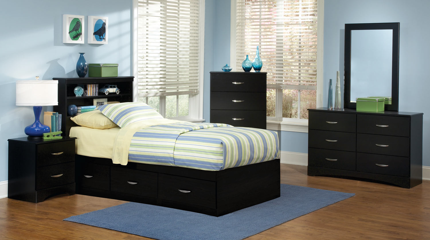 Kith Furniture Jacob 3 Drawer Mates Bedroom Set