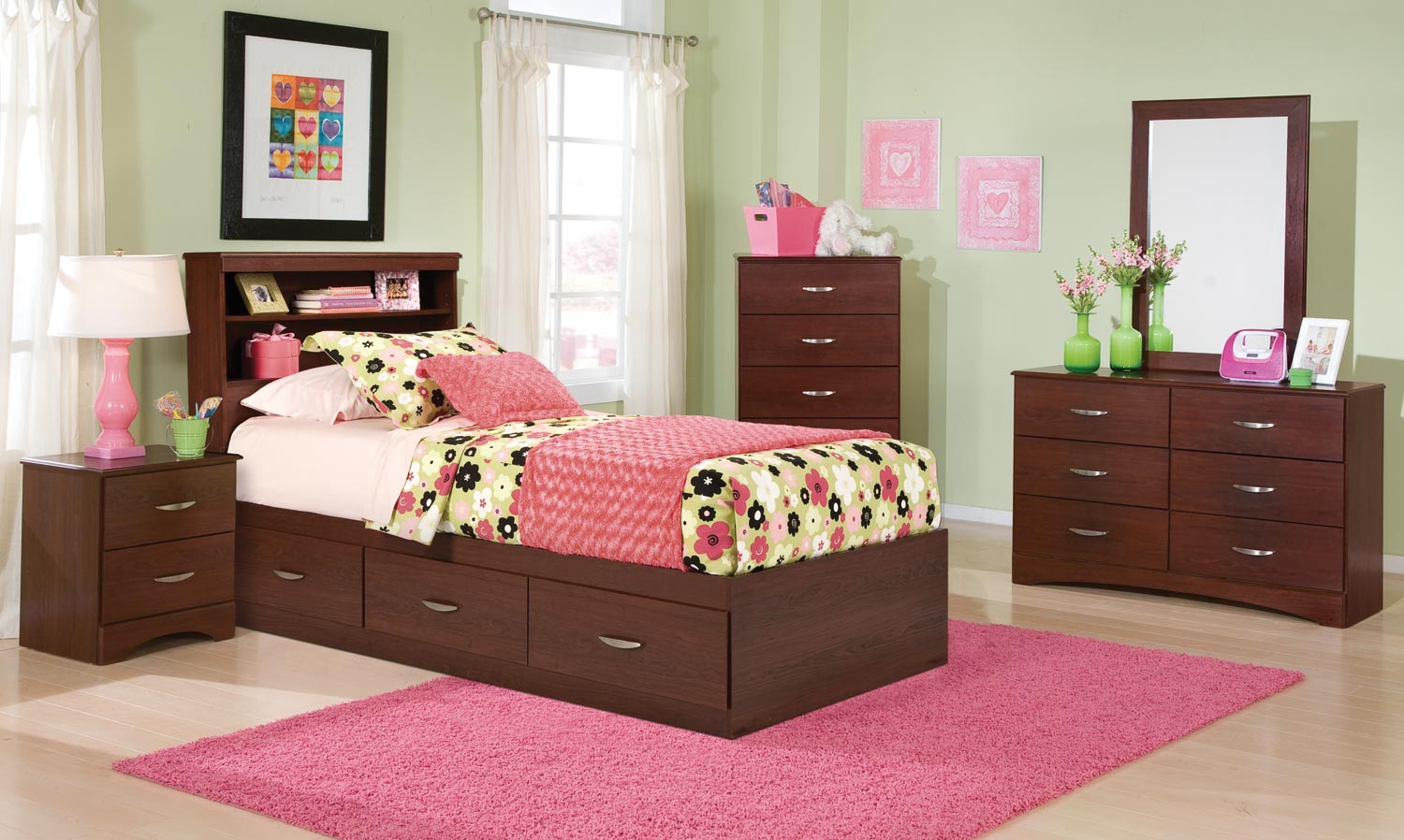 Kith Furniture Briar 3 Drawer Mates Bedroom Set