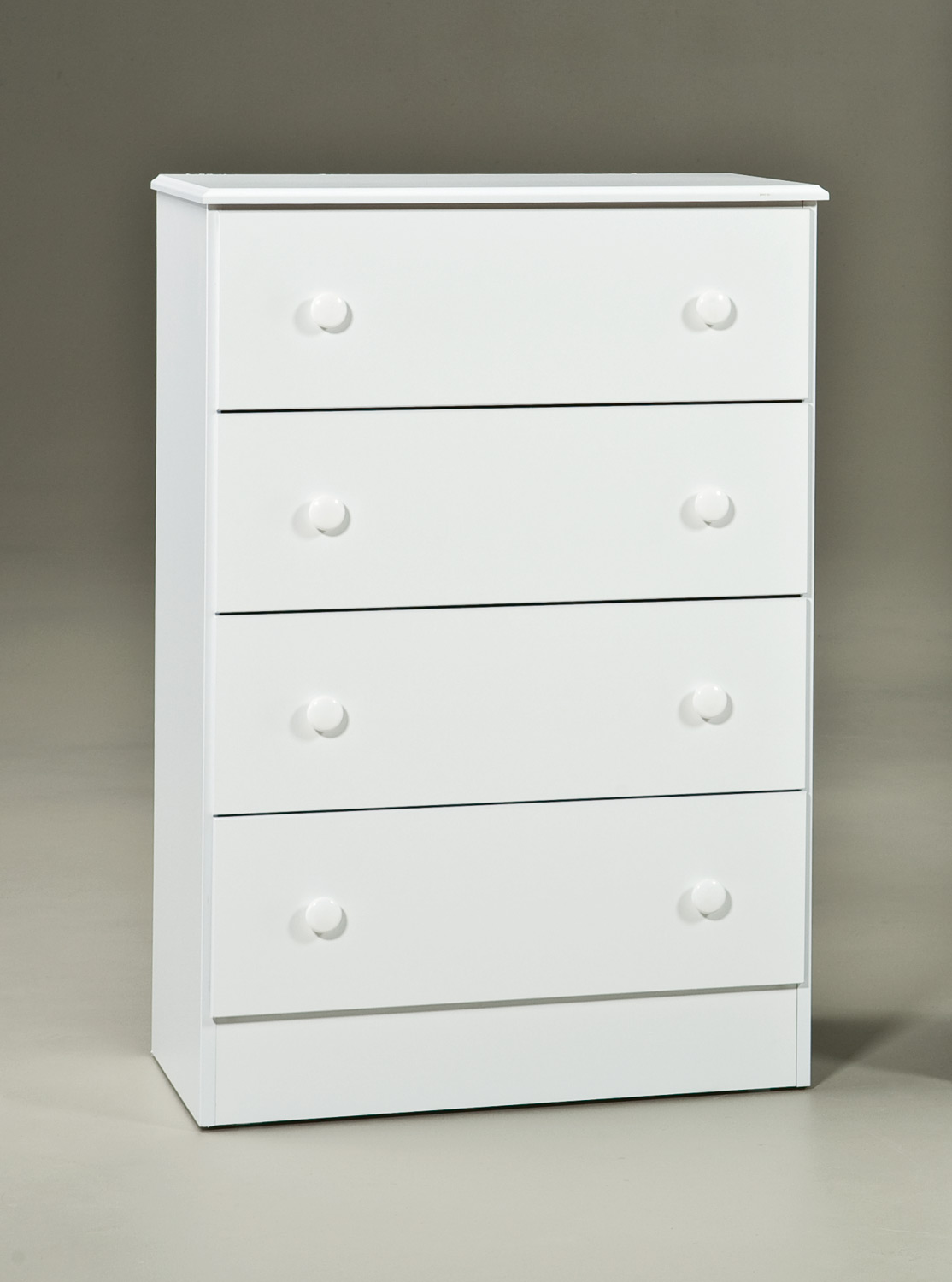 Kith Furniture White 4 Drawer Chest