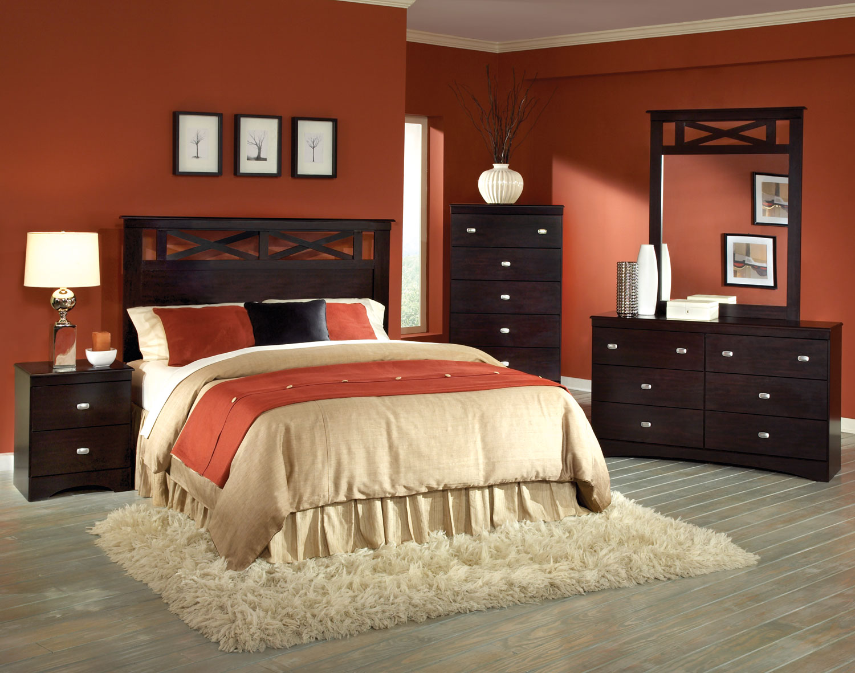 Kith Furniture Tyler Panel Bedroom Set