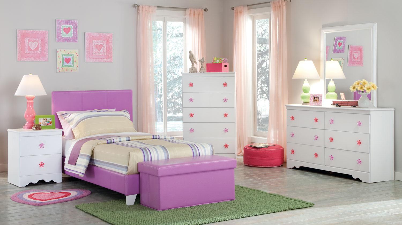 Kith Furniture Savannah Lavender Bedroom Set