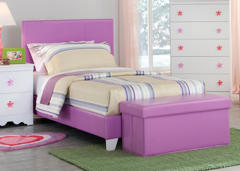 Kith Furniture Savannah Lavender Bed