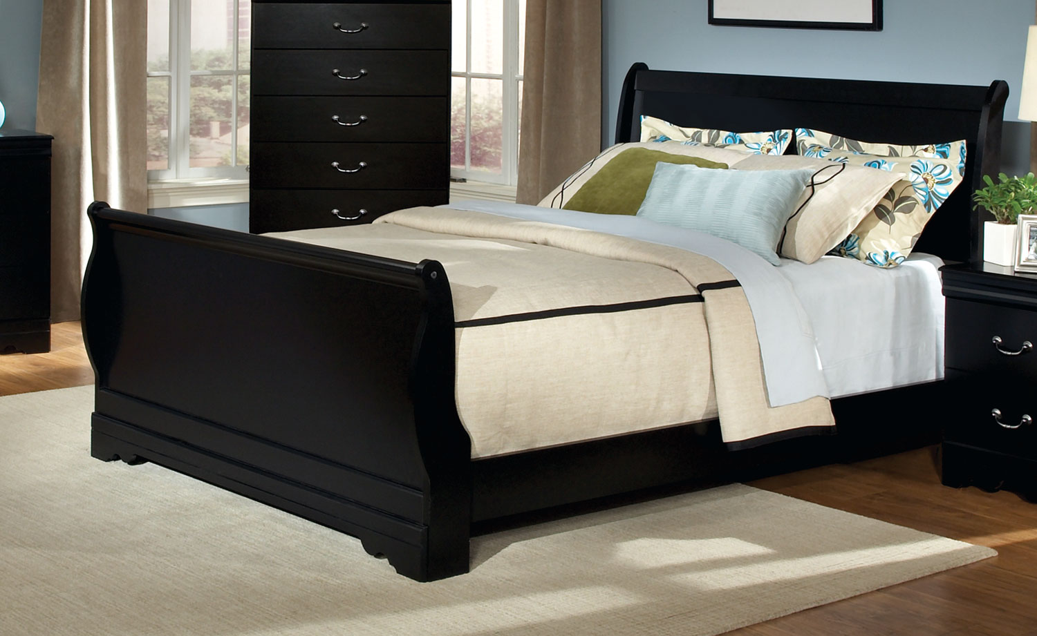 Kith Furniture Johnce Sleigh Bed