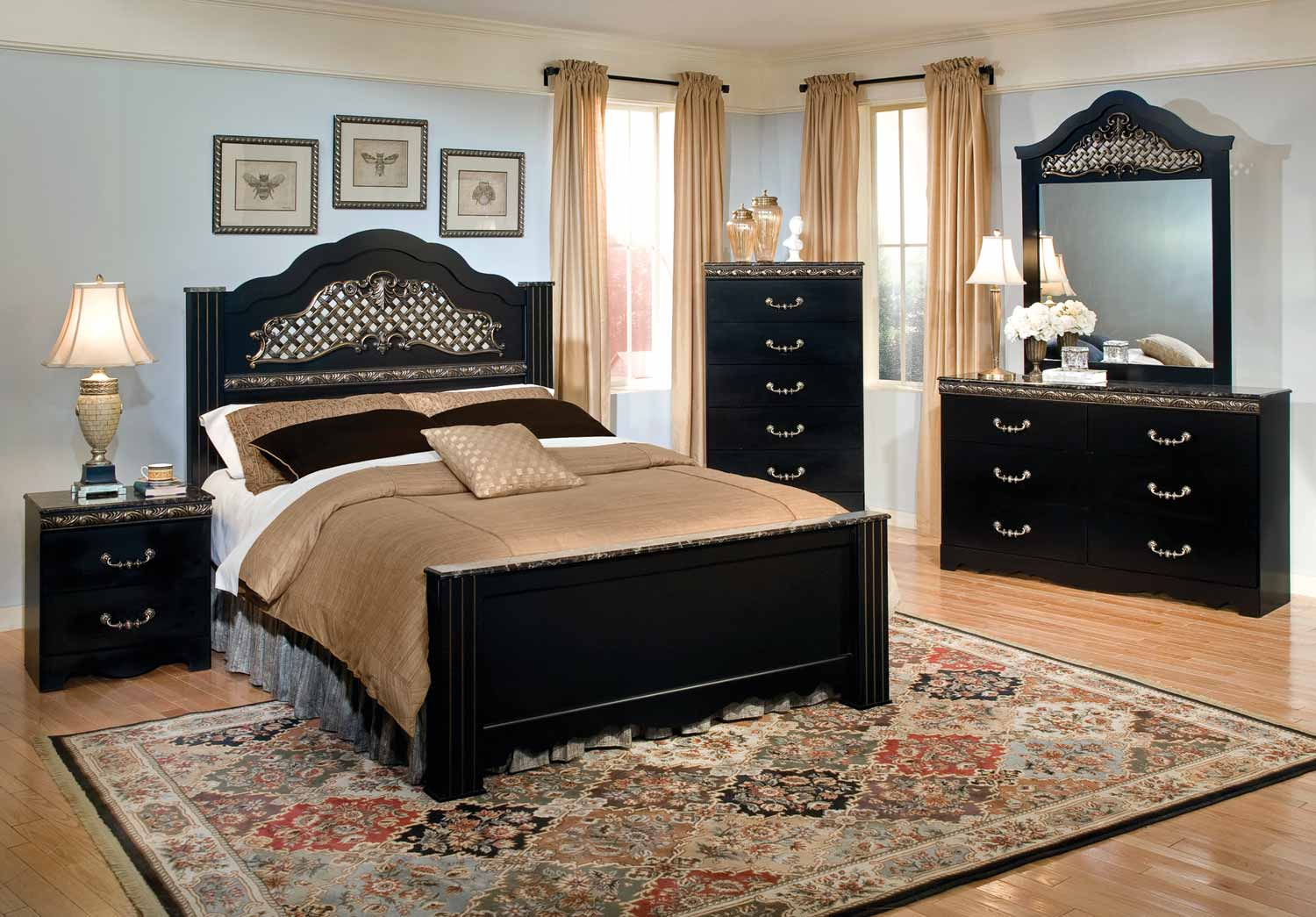 Kith Furniture Sheree Bedroom Set