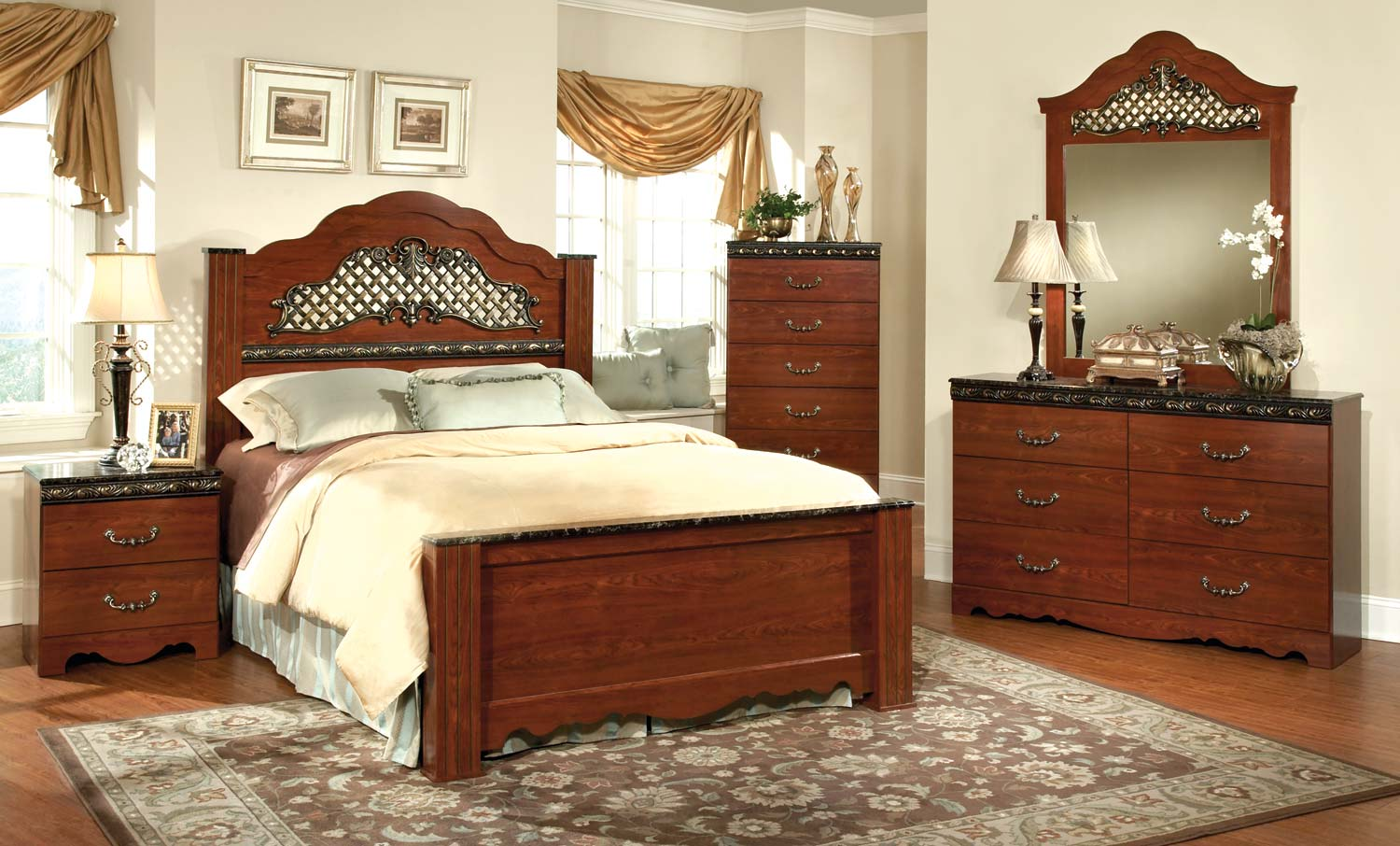 Kith Furniture Megan Heights Bedroom Set