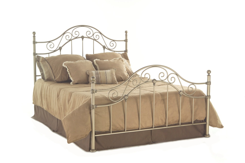 Fashion Bed Group Kensington Bed in Tarnished Copper