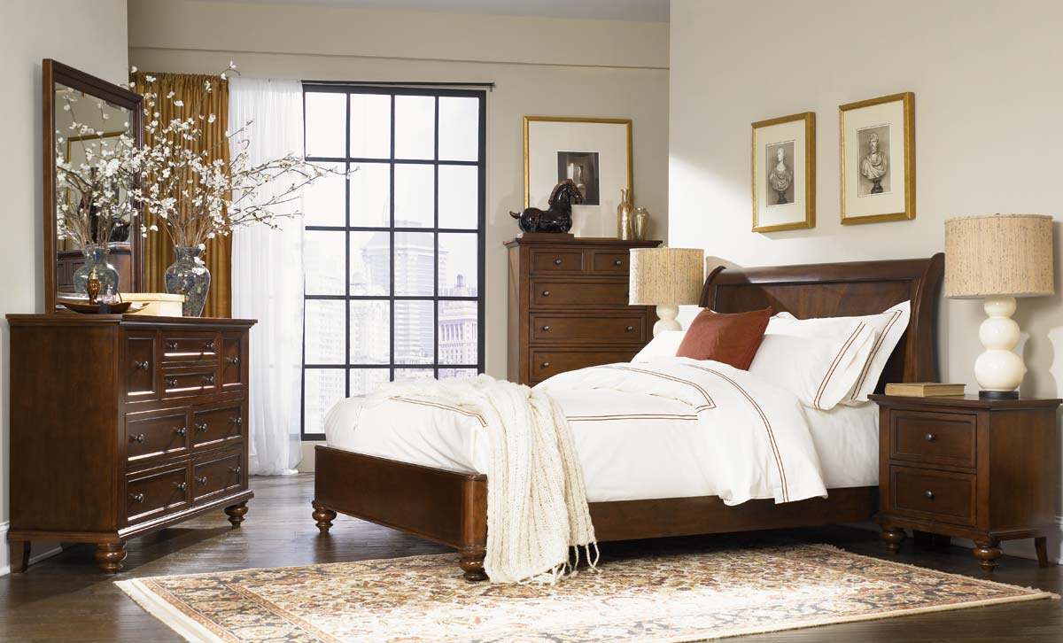 Legacy Classic Hudson Valley Platform Bedroom Set
