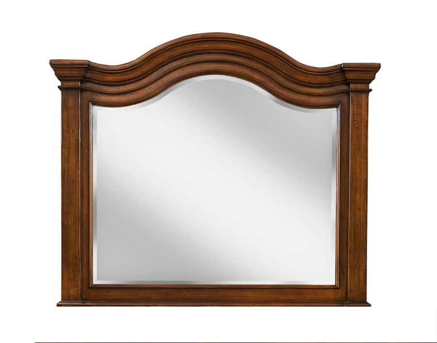 Legacy Classic Claremont Valley Arched Dresser Mirror