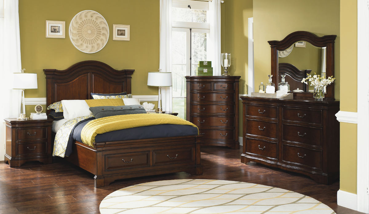 Legacy Classic Claremont Valley Panel Storage Bedroom Set