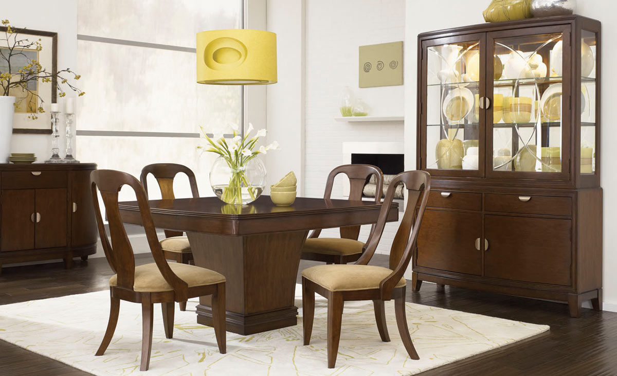 Legacy Classic Skyline Square Pedestal Dining Set B
