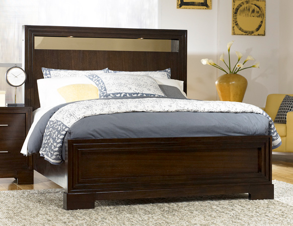 Legacy Classic Forum Lighted Panel Bed