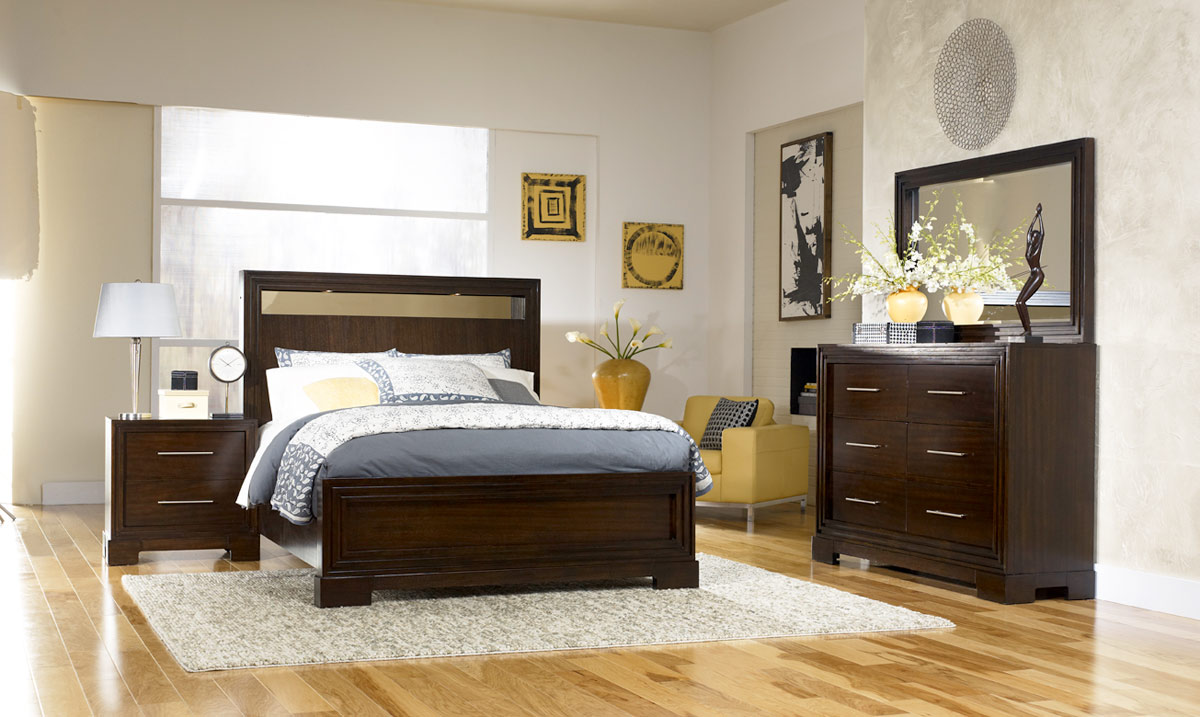 Legacy Classic Forum Panel Bedroom Set