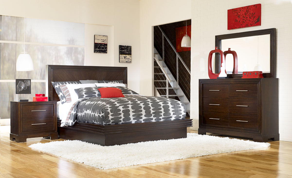 Legacy Classic Forum Platform Bedroom Set