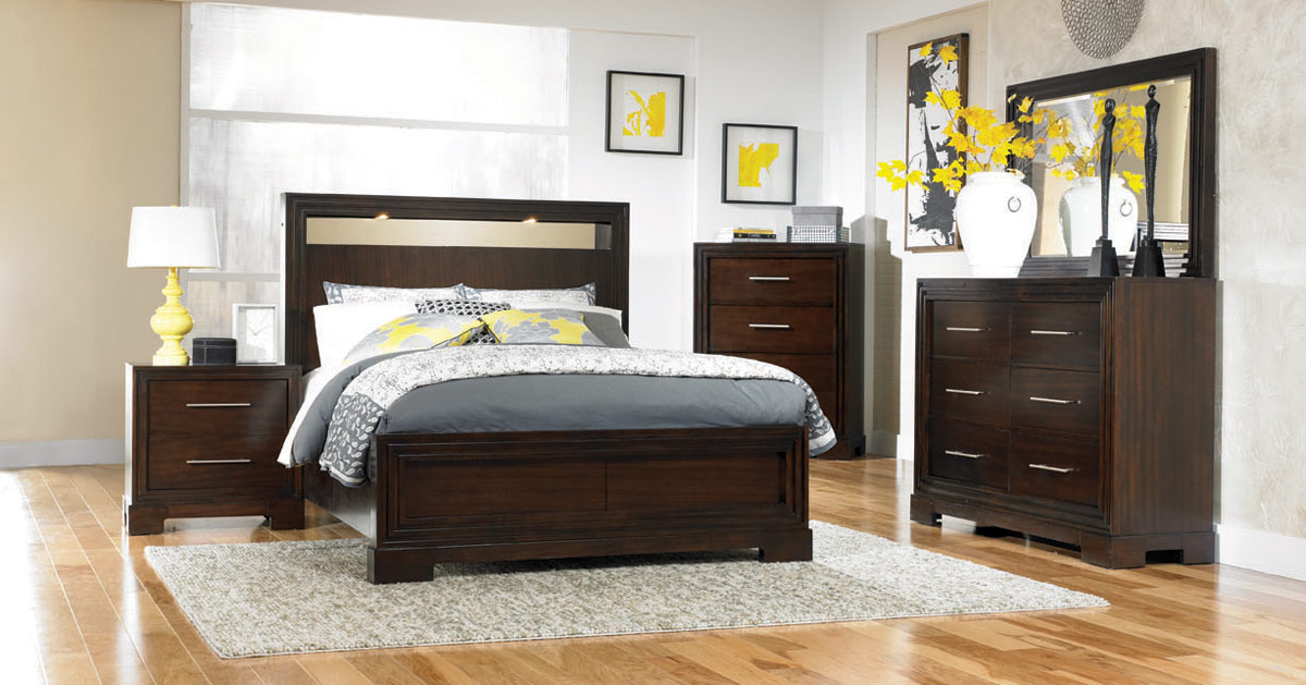 Legacy Classic Forum Lighted Panel Bed With Storage