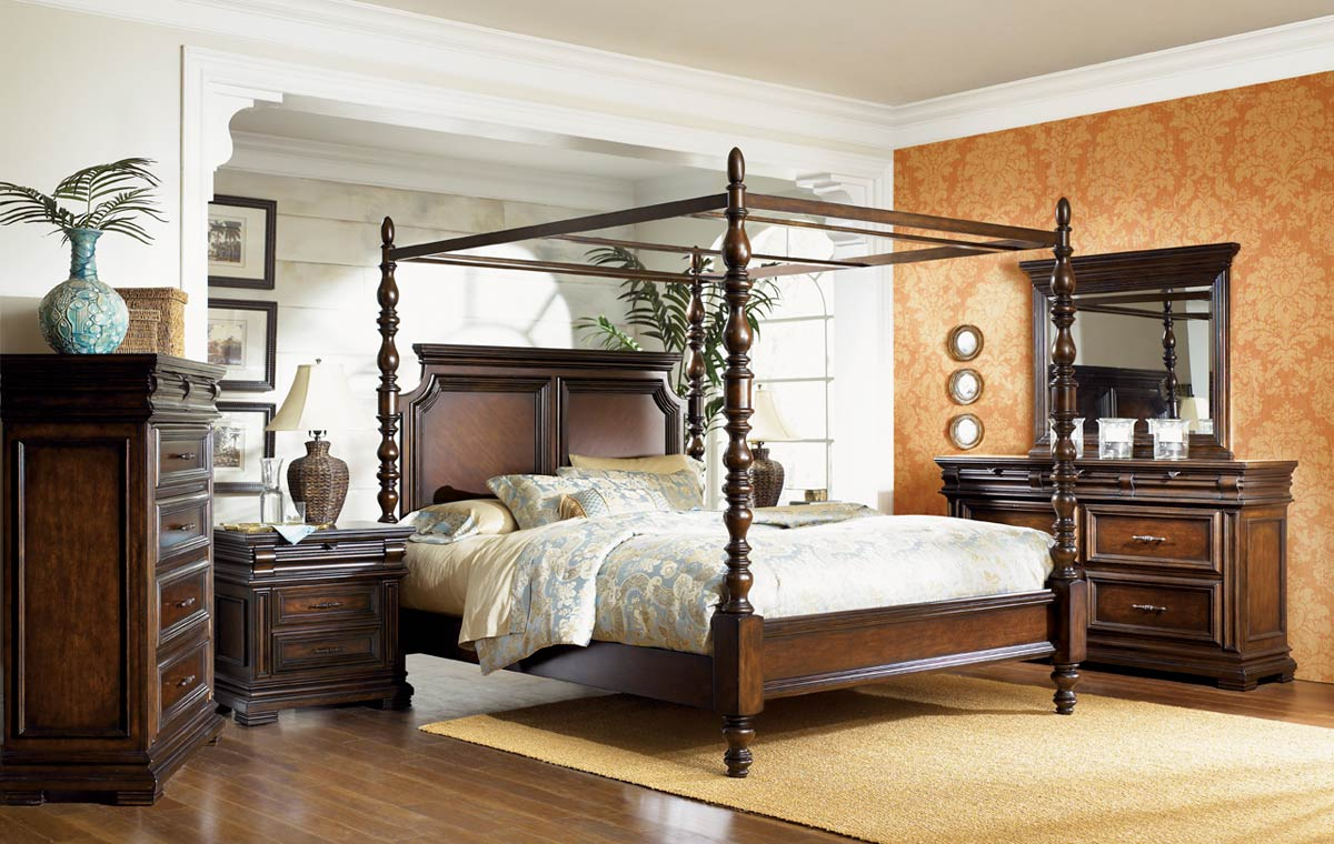 Poster Canopy Bed Pleasing Legacy Classic Havana Poster Canopy Bed 07604525 At Homelement Inspiration
