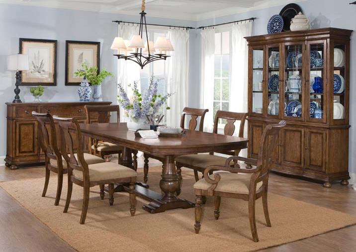 Legacy Classic Americana Rectangular Trestle Dining Set