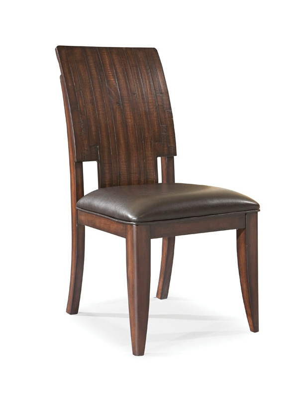 quality homelegance 597d 3s 597d side chair microfiber dark espresso