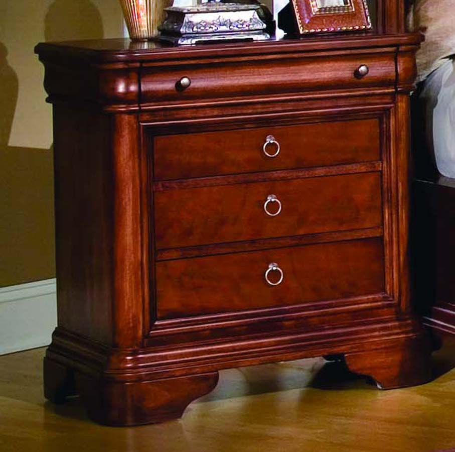 Legacy Classic Vintage 4 Drawer Night Stand 2003100 at Homelementcom
