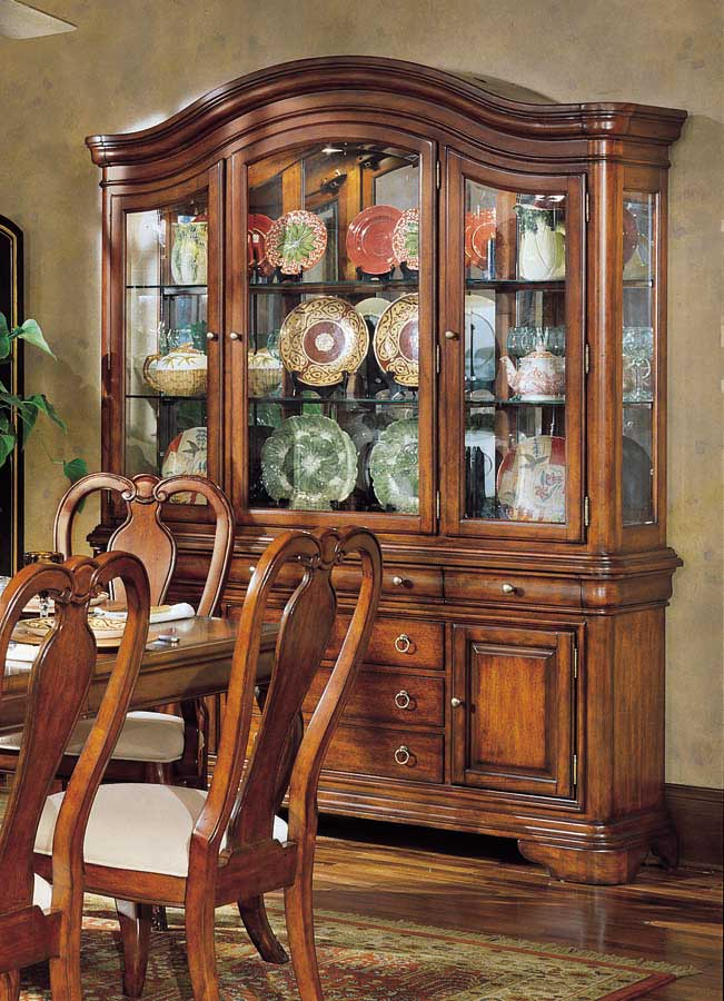 Legacy Classic Vintage Buffet And China Hutch 200 370 372 At Homelement