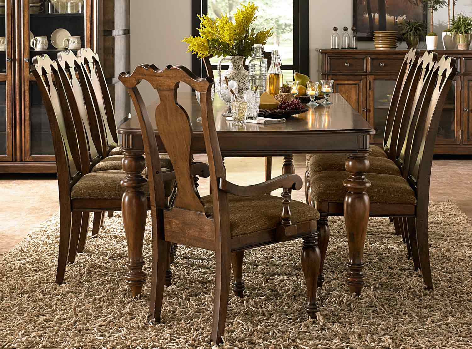 Legacy Classic Summerfield Upholstered Dining Set