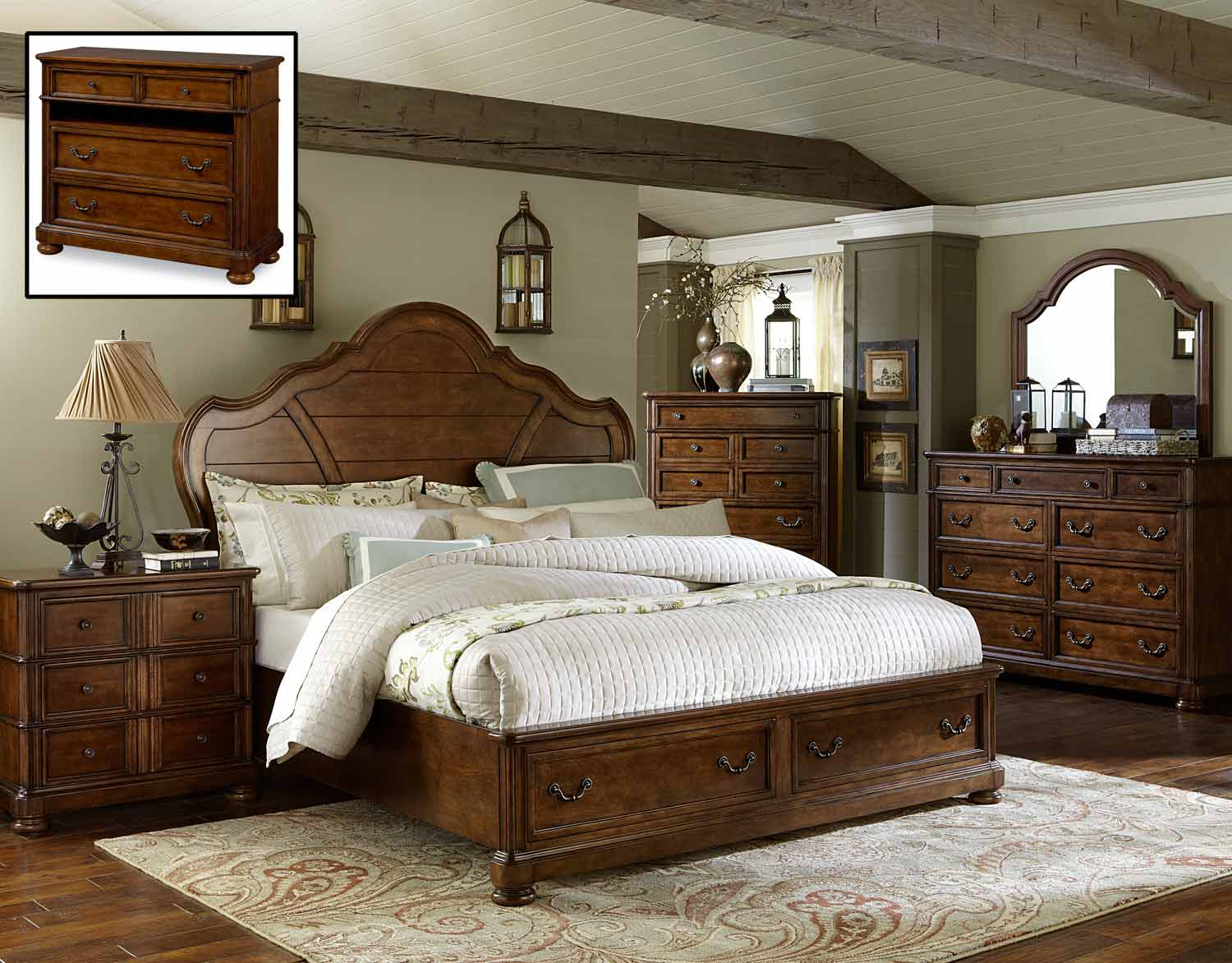 Legacy Classic Summerfield Panel Storage Bedroom Set