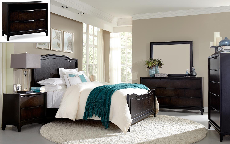 Legacy Classic Palisades Panel Bedroom Set - Cola