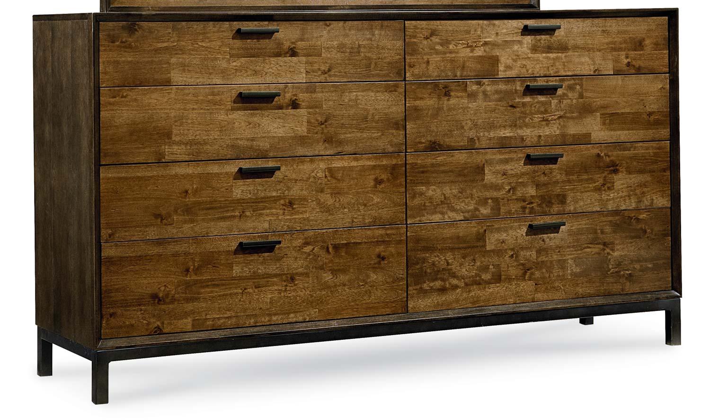 Legacy Classic Kateri Dresser - Hazelnut/Ebony Exteriors